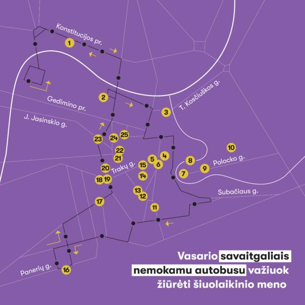 Menas, kuris veža: vasario savaitgaliais sostinėje kursuos specialus maršrutas SU-MENĖK