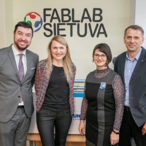 """Vilnius kuria ateities mokyklas – kas trečioje veiks """"FabLab"""" dirbtuvės"""