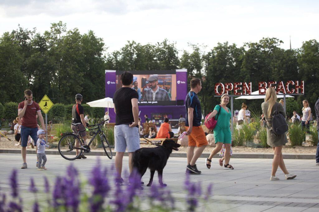 Nuo liepos 6-osios Lukiškių aikštėje istorinių lietuviškų filmų savaitė